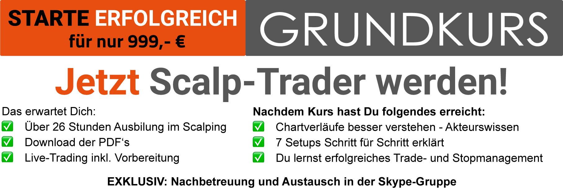 Scalp Trading Ausbildung